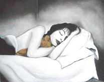 Soñadora que sueña sueños soñados.
